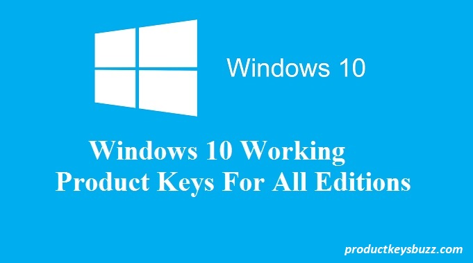 Windows 10 Free Activation Key
