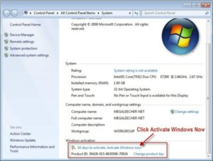 activate windows 7 with genuine keys