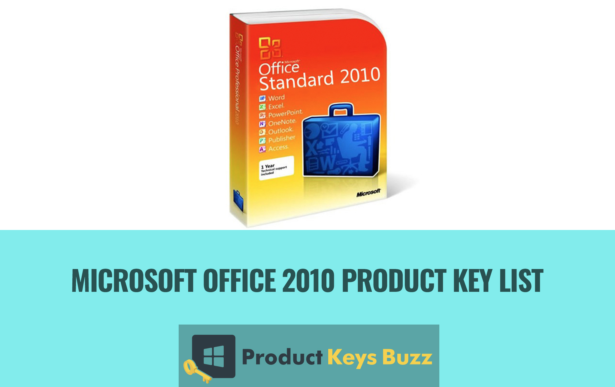 Working]* Microsoft Office 2010 FREE Product Key List