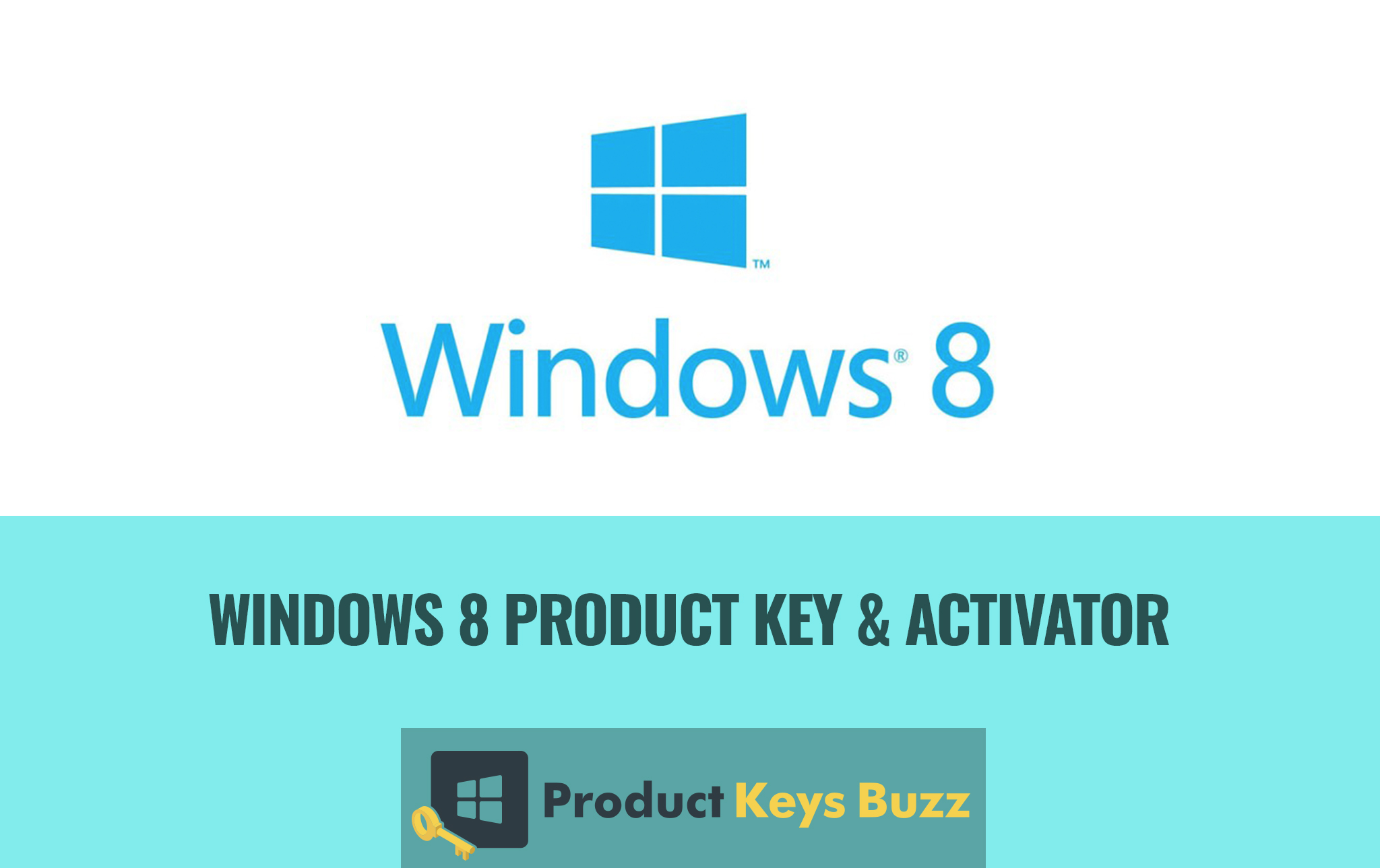 Windows 8 Product Key & Activator
