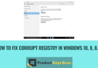 How to fix corrupt Registry in Windows 10, 8, 8.1?