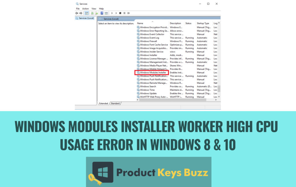 {SOLVED}* Windows Modules Installer Worker High CPU Usage ...