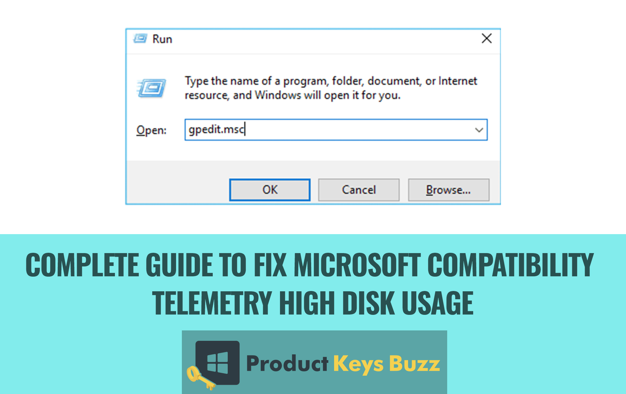 Fix Microsoft Compatibility Telemetry High Disk Usage