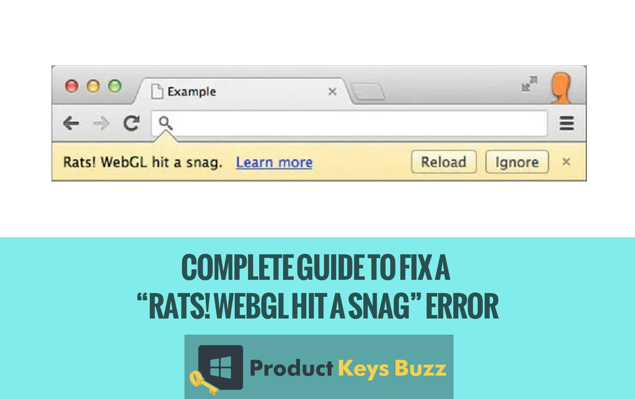 "Complete Guide to Fix a ""Rats! WebGL Hit a Snag"" Error"
