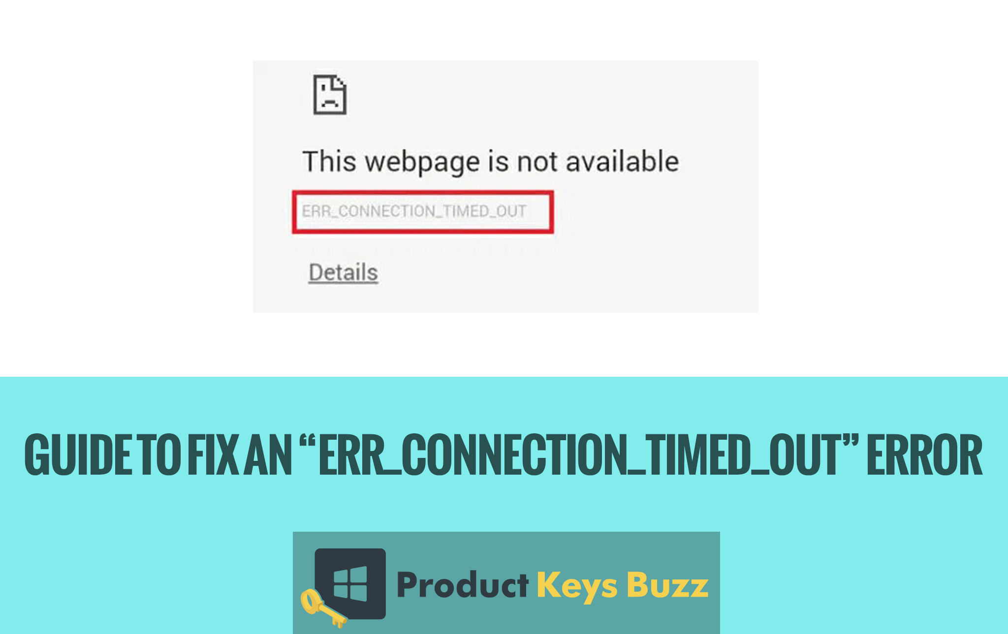 """Guide to Fix an """"err_connection_timed_out"""" Error"""