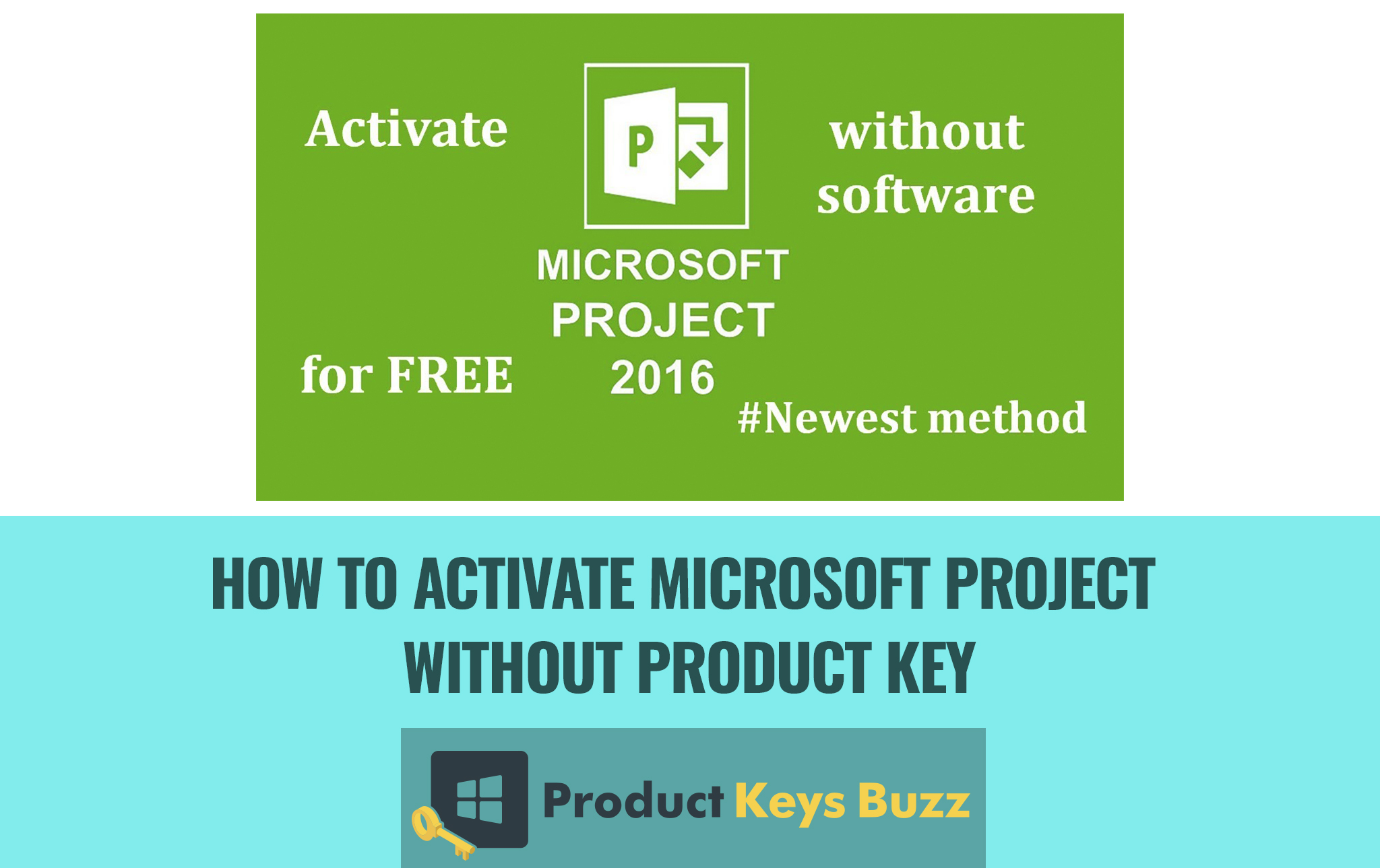 microsoft project 2016 free product key