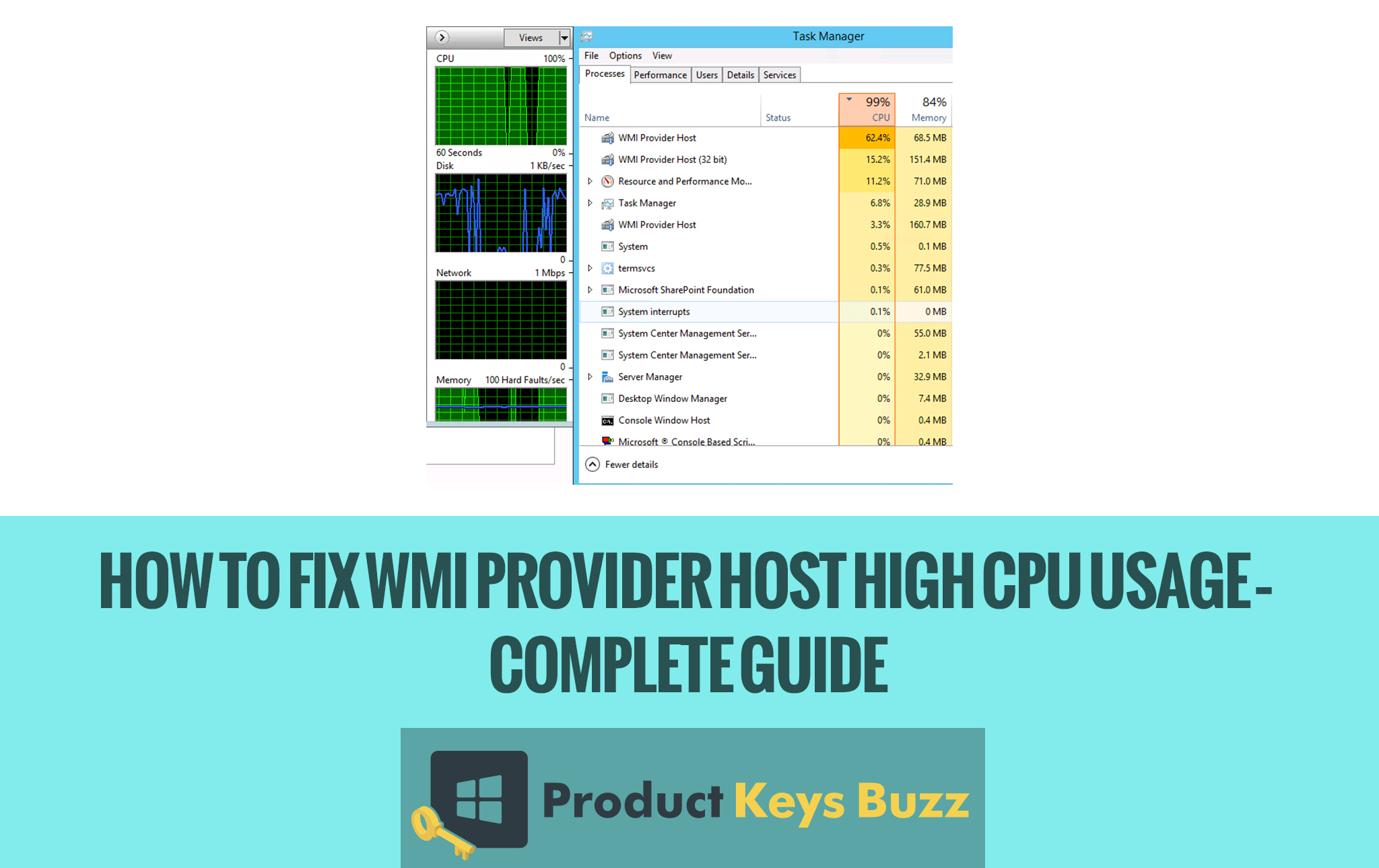 How to Fix WMI Provider Host high CPU usage – Complete Guide