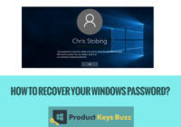 How to Recover Your Windows Password