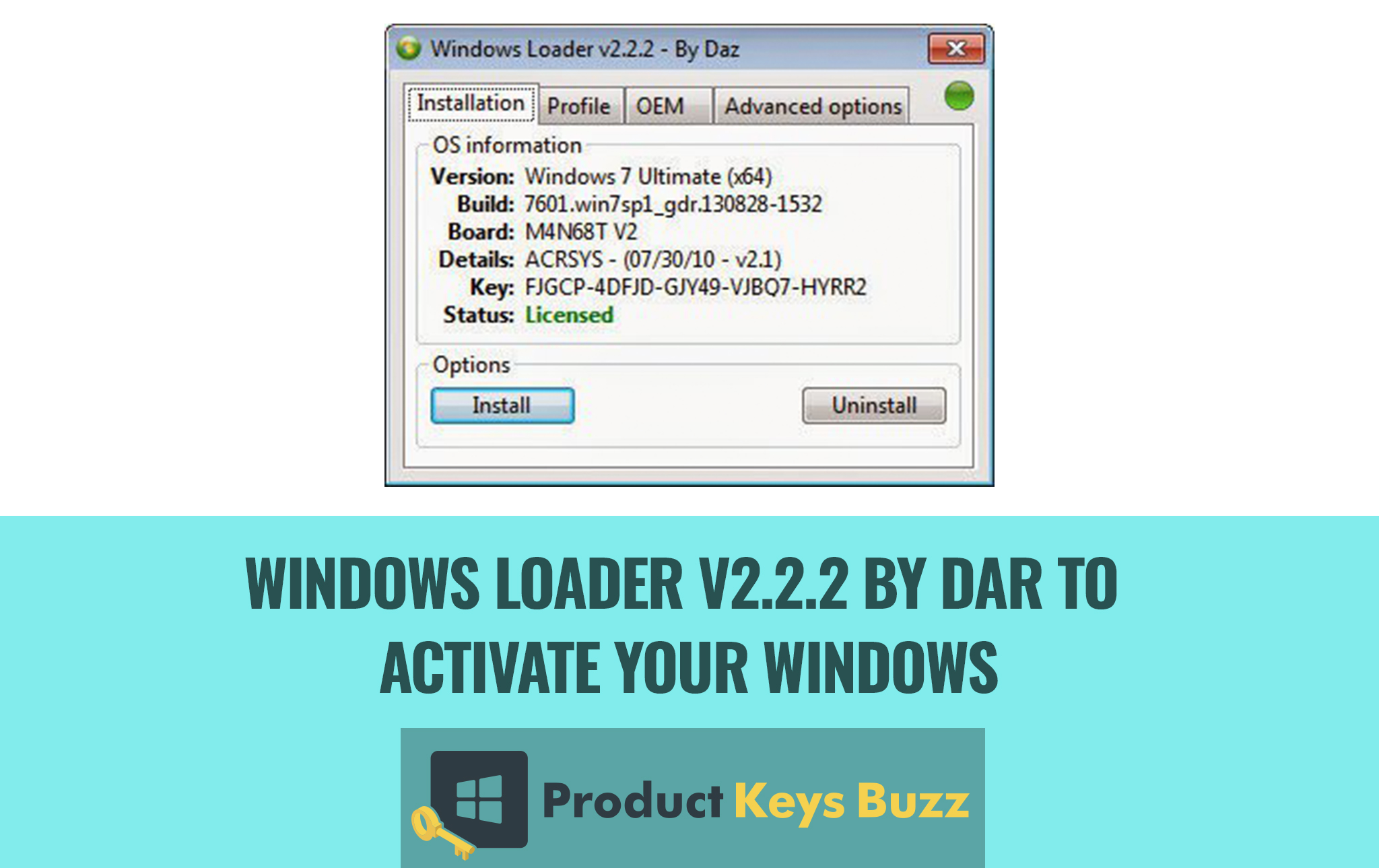 Windows Loader v2 2 2 by Dar to Activate Your Windows