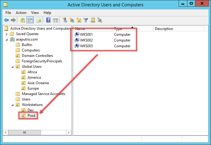 Apply GPO to Computer Group in Active Directory