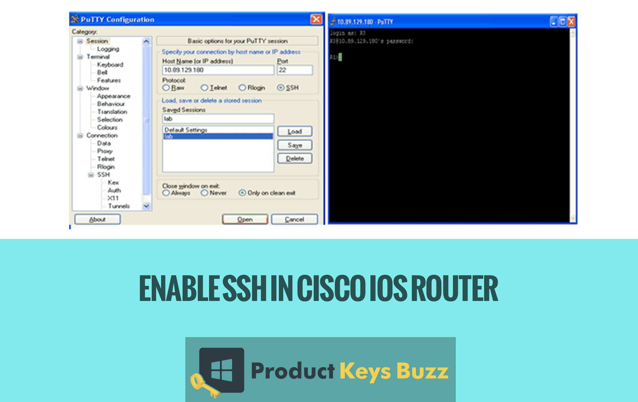 How to Enable SSH in Cisco IOS Router