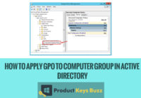 How to Apply GPO to Computer Group in Active Directory
