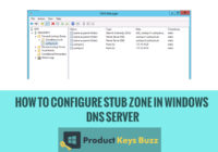 How to Configure Stub Zone in Windows DNS Server