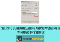 Steps to Configure Aging and Scavenging in Windows DNS Server